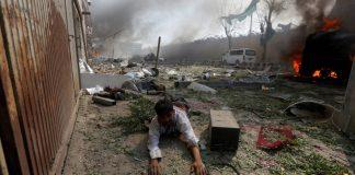 Los atentados dejaron gran cantidad de heridos. Foto: @NexoDigital_ve.