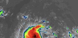 Huracán Humberto amenaza las Bermudas. Foto: @PeriodicoHoy