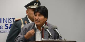 Morales promulgo hoy una Ley que beneficia a enfermos con cáncer. Foto: ABI.