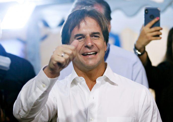 Luis Lacalle Pou. Foto: Reuters.