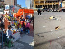 Los artesanos pagarán 5 bolivianos por los tres meses. Foto: LA PATRIA.