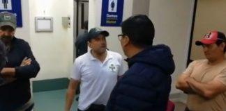 Fernando Camacho permaneció 10 horas dentro el aeropuerto de El Alto. Foto: Captura de pantalla.