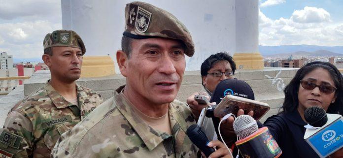 General de brigada Jorge Delfin Marañón Baldivieso, comandante de la Segunda División de Ejército. Foto: LA PATRIA.