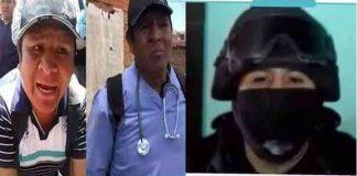 El individuo que se hizo pasar por médico en Senkata. Foto: ATB.