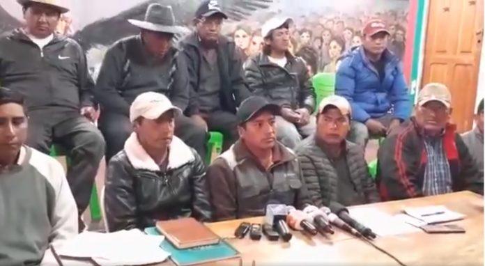 Dirigentes aseguran que los bloqueas no se levantarán. Captura de Pantalla.