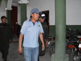 Marcelo Serrudo, secretario Ejecutivo de la Federación Departamental de Maestros de Educación Rural de Oruro. Foto: LA PATRIA.