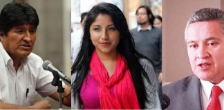 León dijo que presentará una demanda en contra de la hija de Morales por enriquecimiento ilícito. Fotos:Internet.