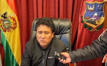 Saúl Aguilar continuará como Alcalde de Oruro. Foto: GAMO.
