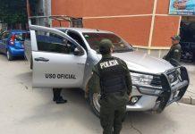 El vehículo pertenece al Municipio de Pocoata. Foto: LA PATRIA.