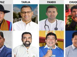 Segunda vuelta en las urnas de cuatro departamentos del país