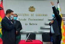 Posesión del nuevo viceministro de Seguridad Ciudadana, Roberto Ríos