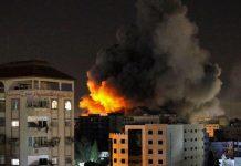 Ataques entre israelíes y palestinos dejan al menos 35 muertos, doce de ellos niños