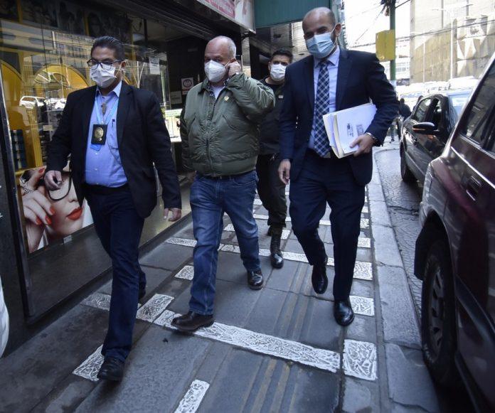 Audiencia de Murillo se posterga para el 8 de octubre a pedido de su  defensor